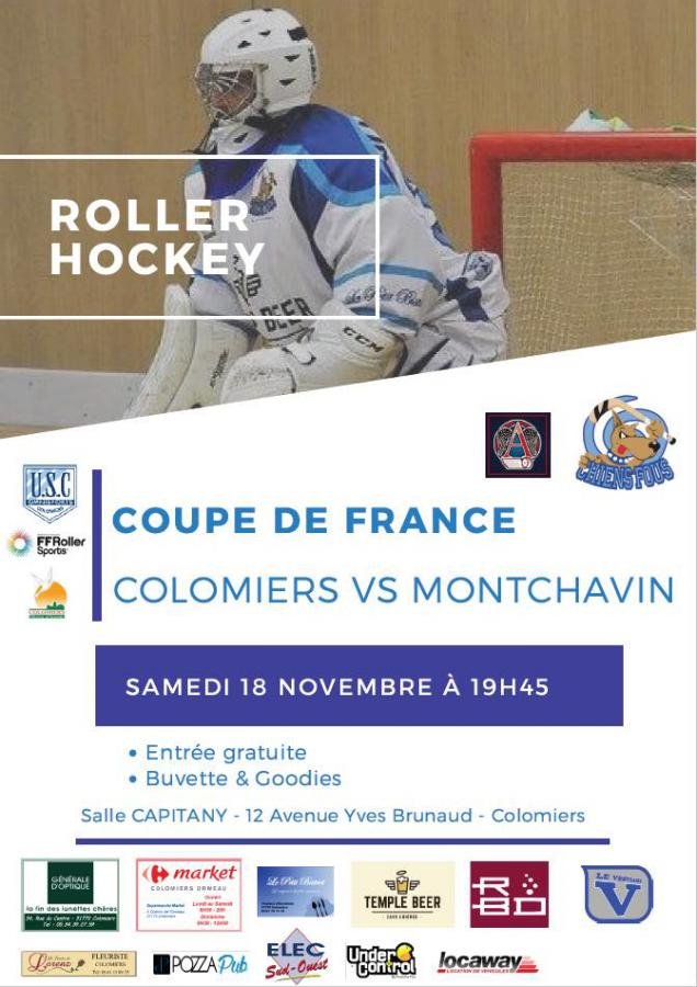 Coupe de France - Colomiers VS Monchavin